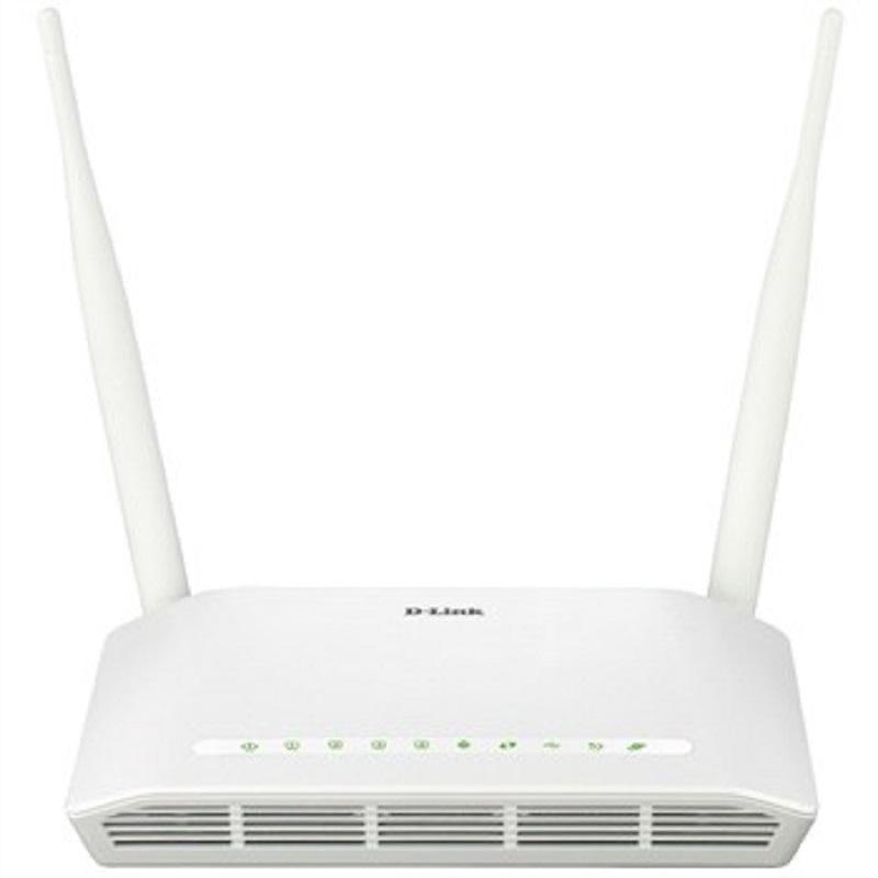 مودم روتر بیسیم دی-لینک سری +ADSL۲ مدل DSL-۲۷۵۰U New | D-Link DSL-2750U New N300 ADSL2+ Wireless Modem Router