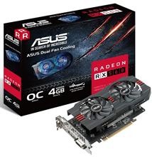 کارت گرافیک ایسوس مدل آر ایکس 560 O4G اوو با حافظه 4 گیگابایت | ASUS RX560-O4G-EVO Graphics Card