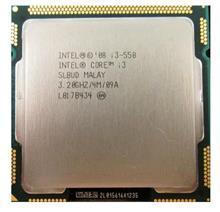 سی پی یو اینتل مدل Core i3-550 با فرکانس 3.20 گیگاهرتز | Intel Core i3-550 3.2GHz LGA 1156 Clarkdale CPU