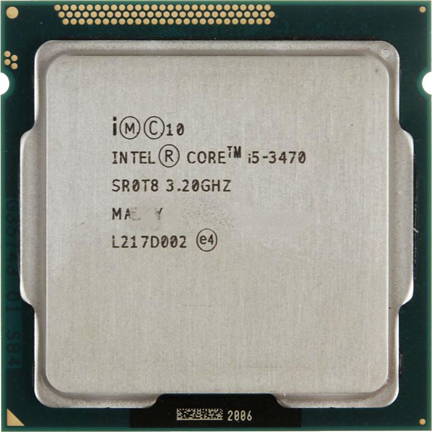 پردازنده اینتل آی فایو ۳۴۷۰ آیوی بریج | Intel Core i5 3470 3.2GHz LGA 1155 Ivy Bridge TRAY CPU