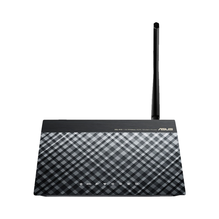 مودم-روتر ADSL و بی‌سیم ایسوس مدل DSL-N۱۰ C۱ | ASUS DSL-N10 C1 Wireless-N150 ADSL Modem Router