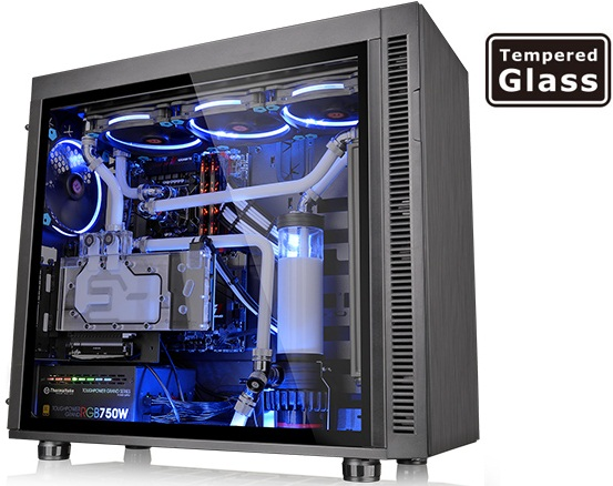کیس ترمالتیک مدل Suppressor F۵۱ Tempered Glass Edition | Thermaltake Suppressor F51 Tempered Glass Edition Mid Tower Case